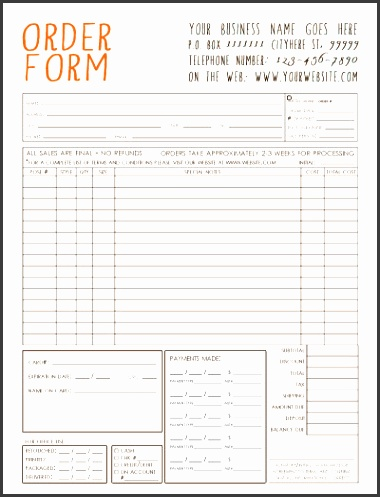 Purchase Order Form Template best 25 order form template ideas on pinterest order form best 25 order form template ideas on pinterest order form oltre
