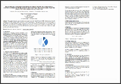 science paper template