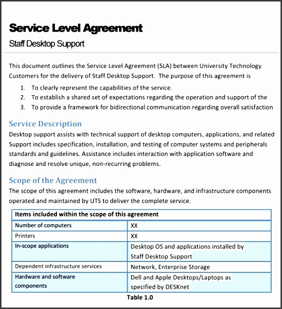 Sample Service Agreement Template 6 Free Documents Download In intended for Service Agreement Template