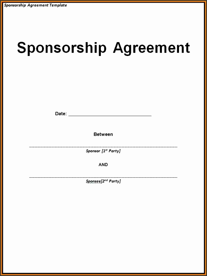 Sponsorship Invoice Template Word – Createcloud Sponsorship Invoice Template