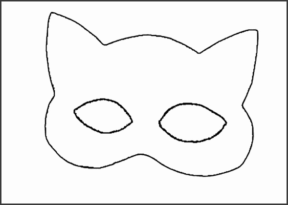 Superhero Mask Template Printables  Sampletemplatess
