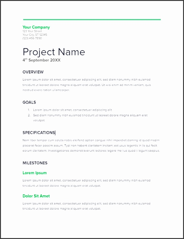 Project Proposal Template