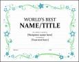 8  Templates Of Certificates