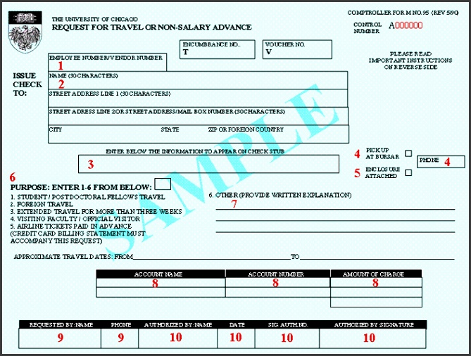 travel advance form template how to plete a travel advance form financial services the template