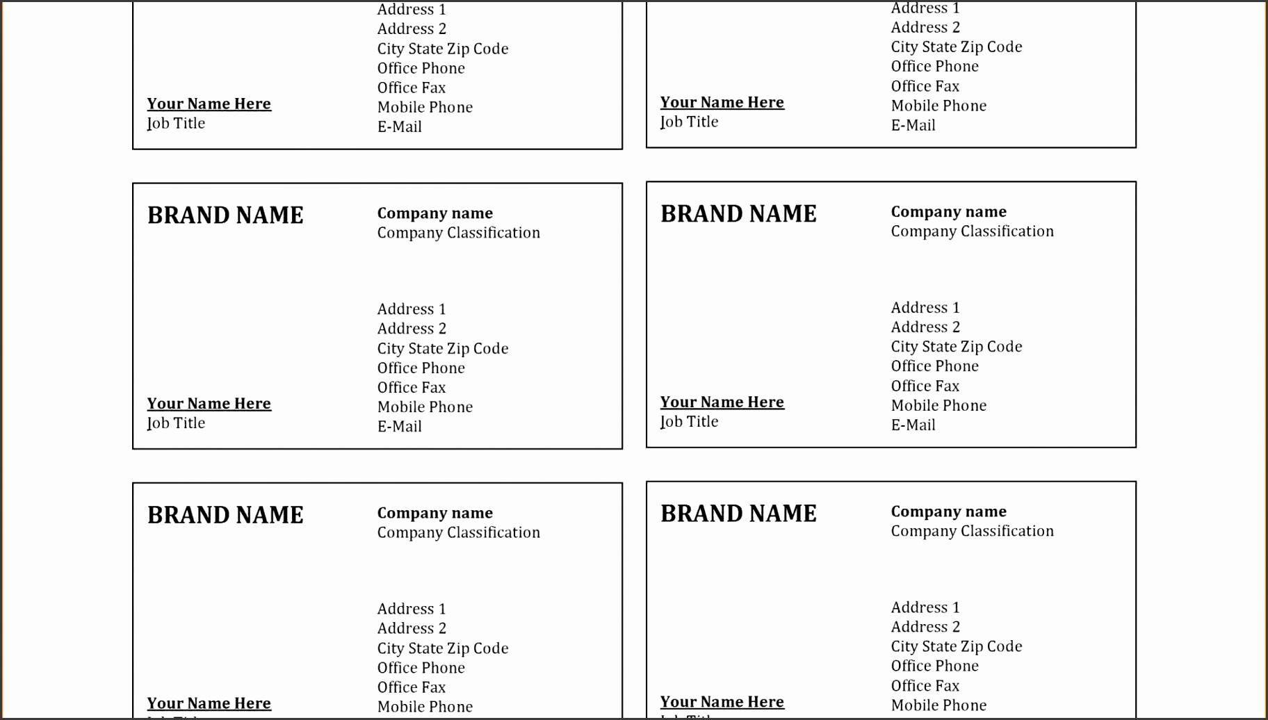 9 Vistaprint Business Card Template Psd