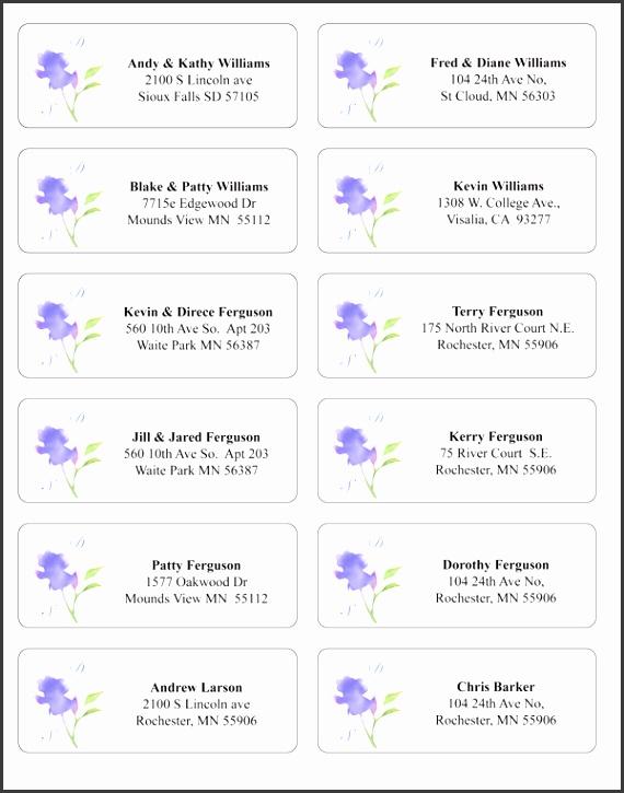 wedding address label templates - Boat.jeremyeaton.co