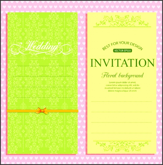 Wedding invitation background free vector 45 055 Free vector for mercial use format ai eps cdr svg vector illustration graphic art design