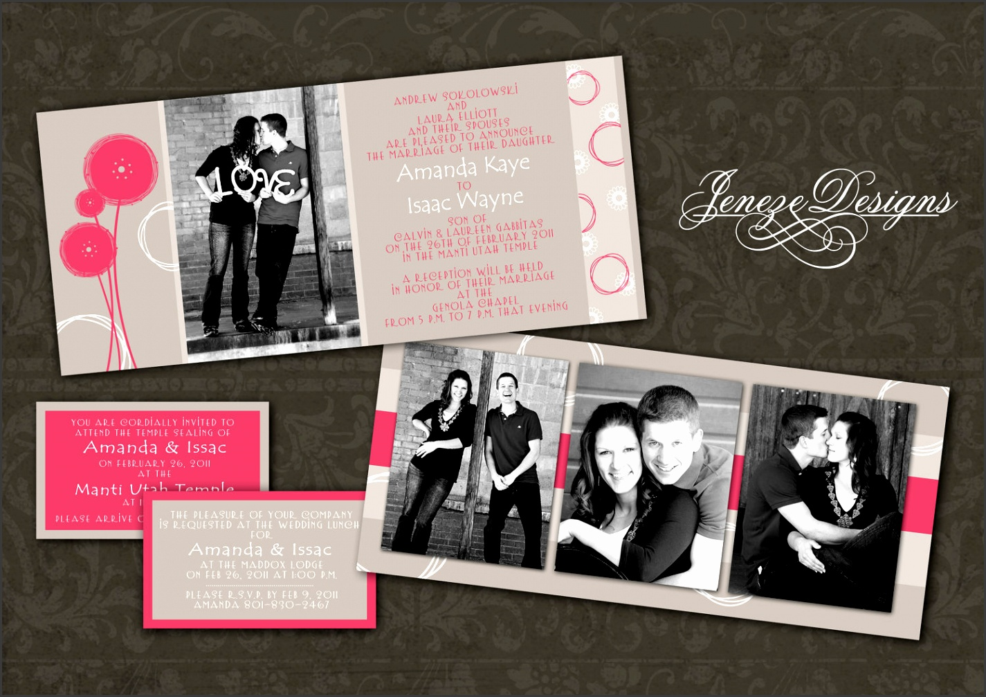 Wedding invitation templates photoshop akbaeenw wedding invitation templates photoshop stopboris Images