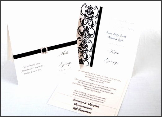 Traditional Elegant Wedding Invitations: 10 Wedding Invitation Formal