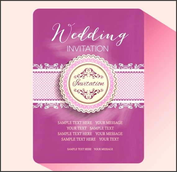 Free Wedding Invitation Card Template Editable Wedding Invitations intended for Editable Wedding Invitation Templates Free Download