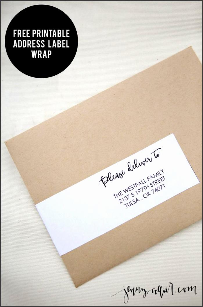 Adorable Wedding Address Labels 9