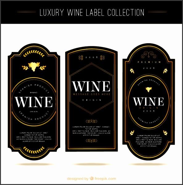 7 wine label template photoshop