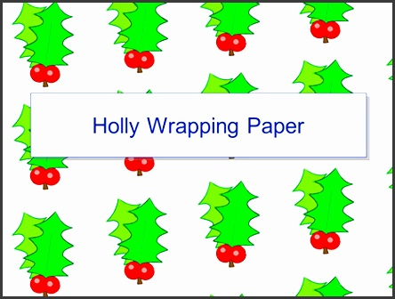 holly wrapping powerpoint 1