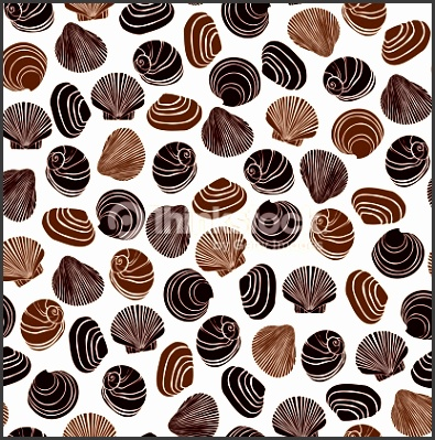 Template for design wrapping paper textile scrapbooking Vector Art