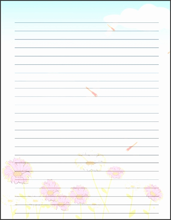 christmas writing paper template free