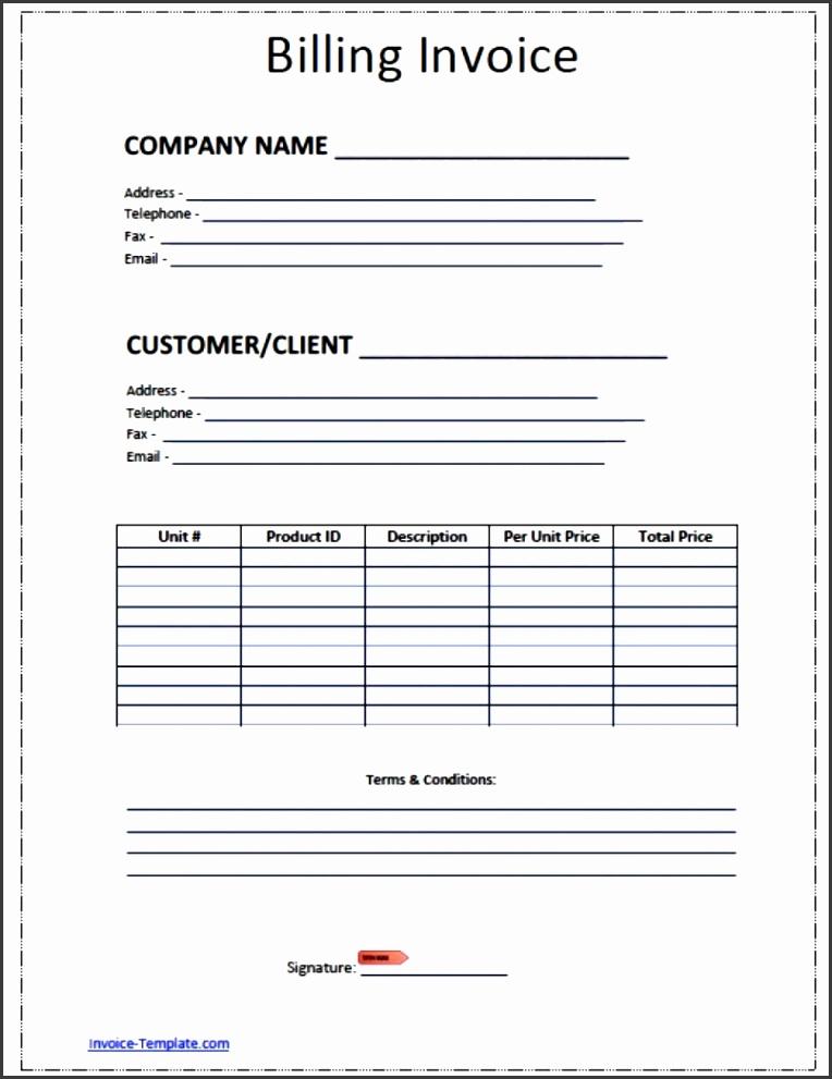 5 1099 invoice template sampletemplatess sampletemplatess. Black Bedroom Furniture Sets. Home Design Ideas