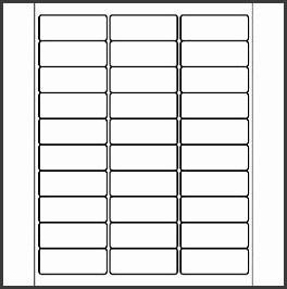 30 address label template