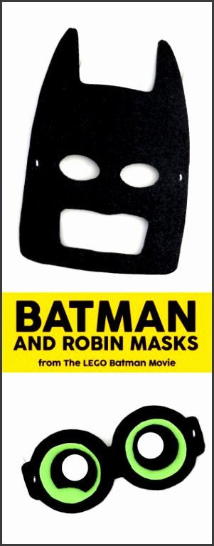 DIY LEGO Batman Masks 2