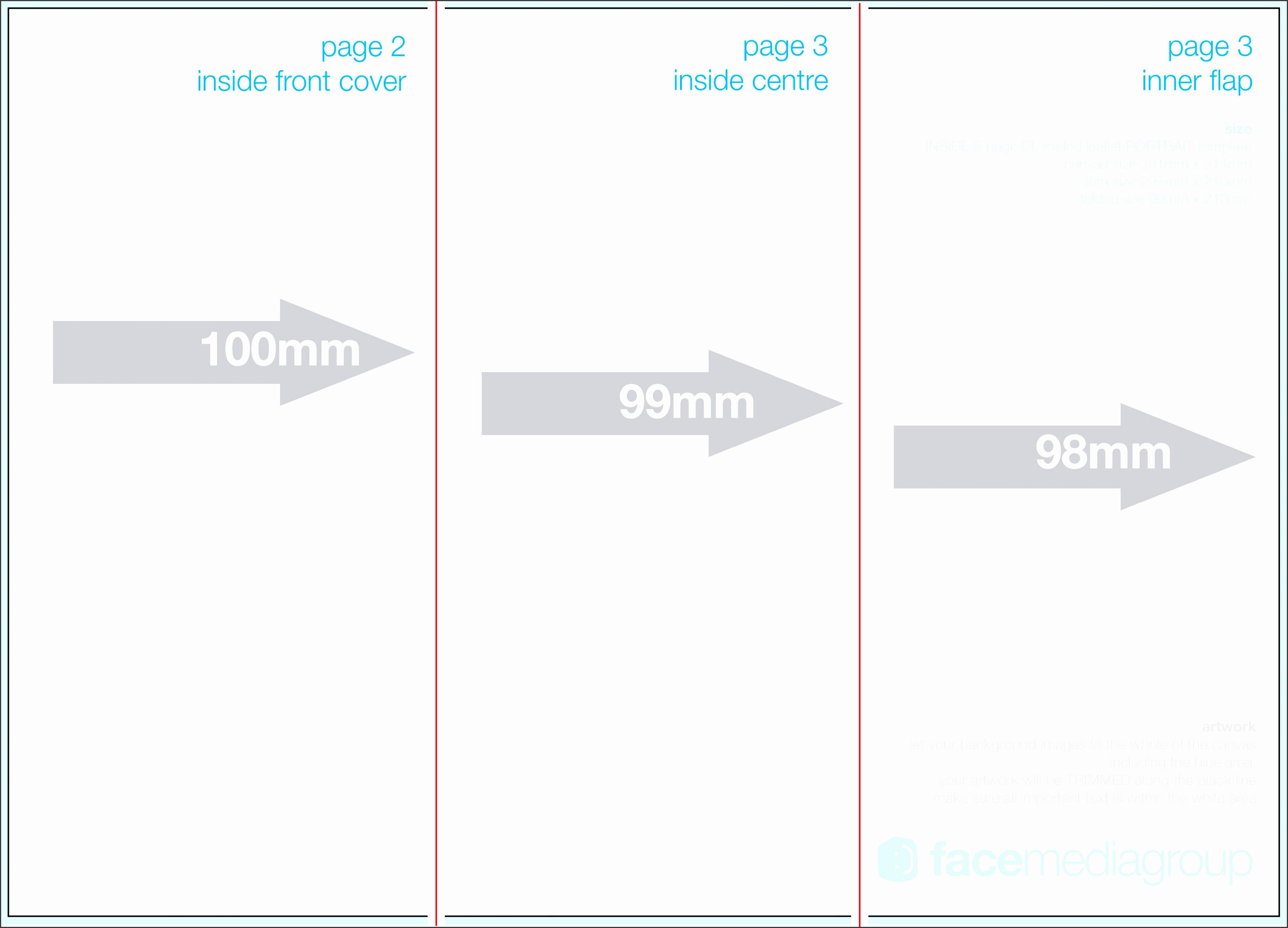 best of blank brochure template pikpaknews free