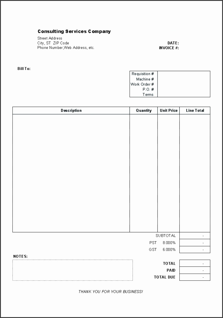 9 blank order form template download