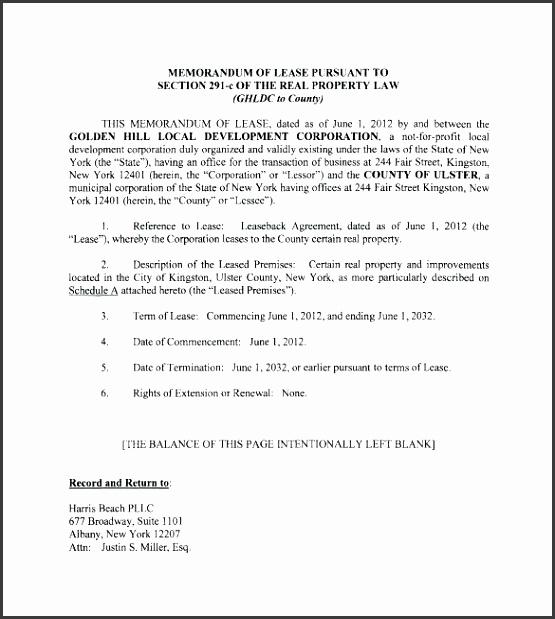 samples of a memorandum memorandum of lease agreement template memo writing templates