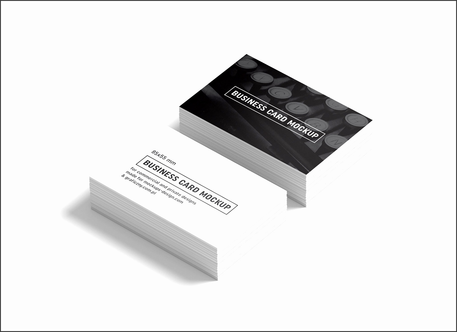 10 business card mockup template psd sampletemplatess free black white business card mockup psd fbccfo Gallery