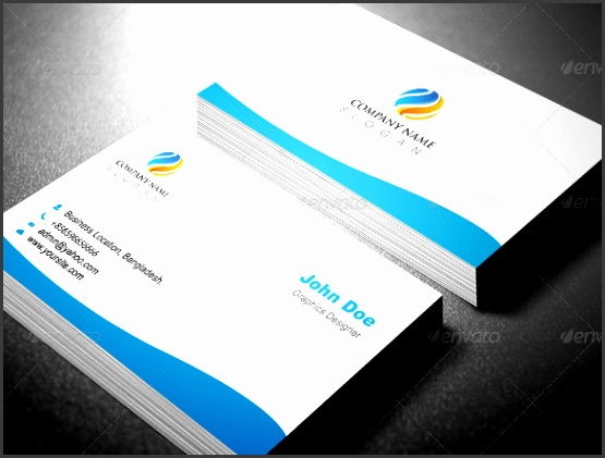 Professional Business Card Template Design Download