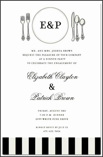 6 business dinner invitation template free. Black Bedroom Furniture Sets. Home Design Ideas