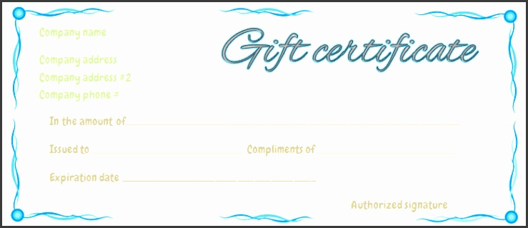 blue ribbons t certificate template