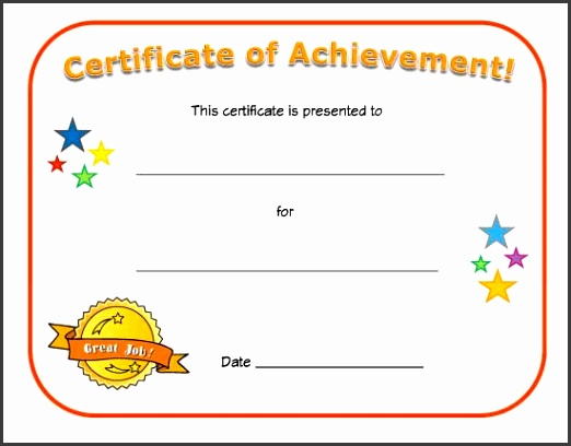 Free Printable Blank Certificates