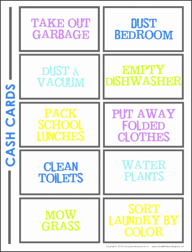 Chore Chart for Kids How to Make a Chore Chart