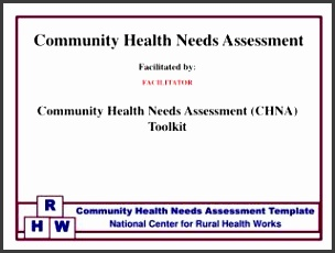 Facilitated by FACILITATOR munity Health Needs Assessment CHNA Toolkit