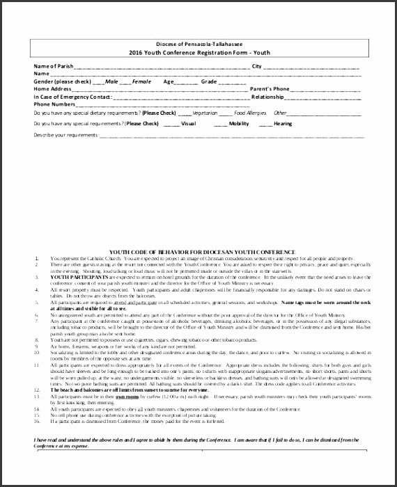 conference registration form template word registration form template 9 free pdf word documents templates