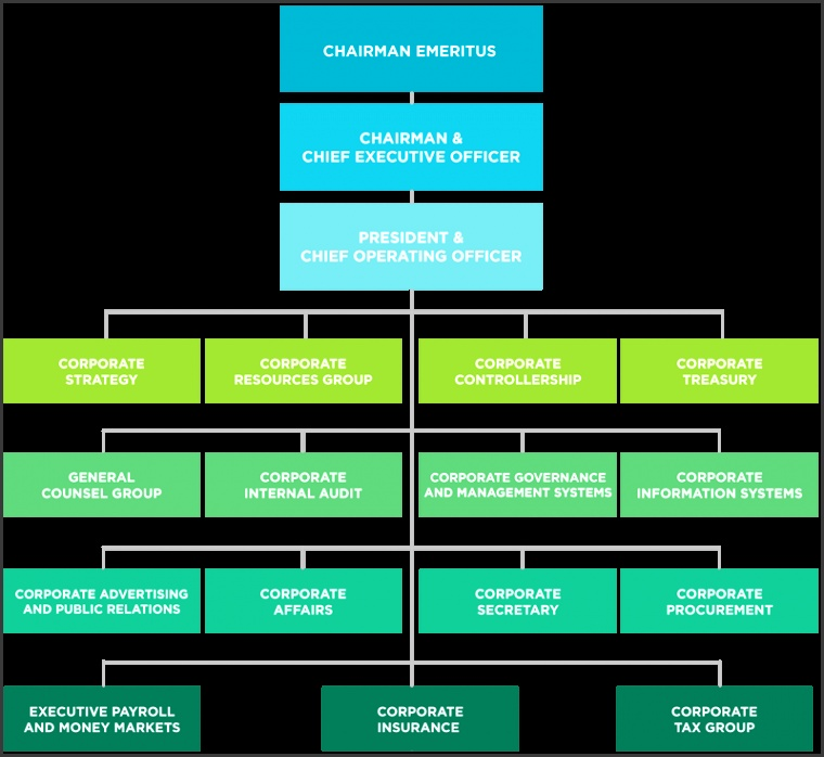 Organizational Structure JG Summit Holdings Inc