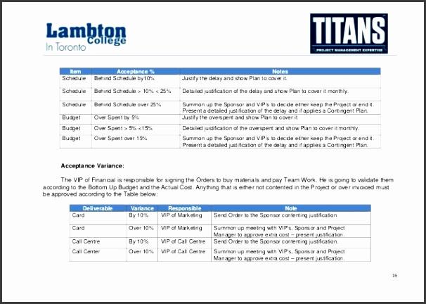 Alpha Case Study Project Management Plan Sample