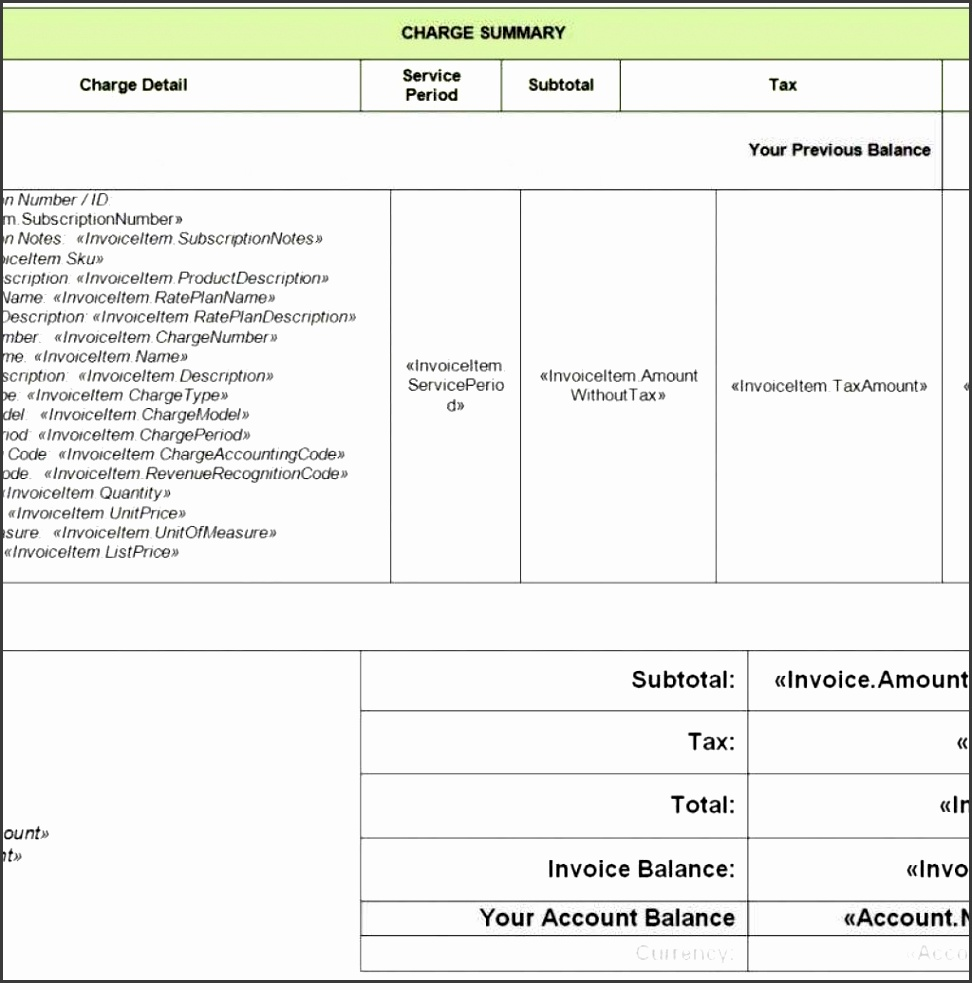 Electrical Invoice Template Pdf