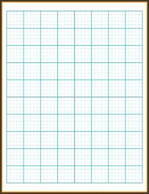 10 Graph Paper Template Cashier Resume