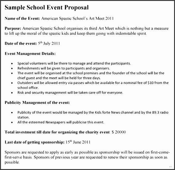 6 Event Management Proposal Template Sampletemplatess