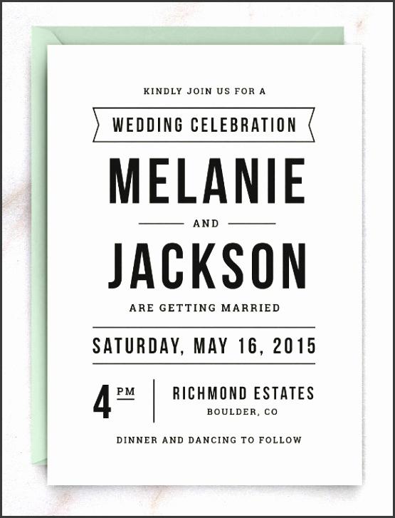 Lite Wedding Invitation Template for Everyone