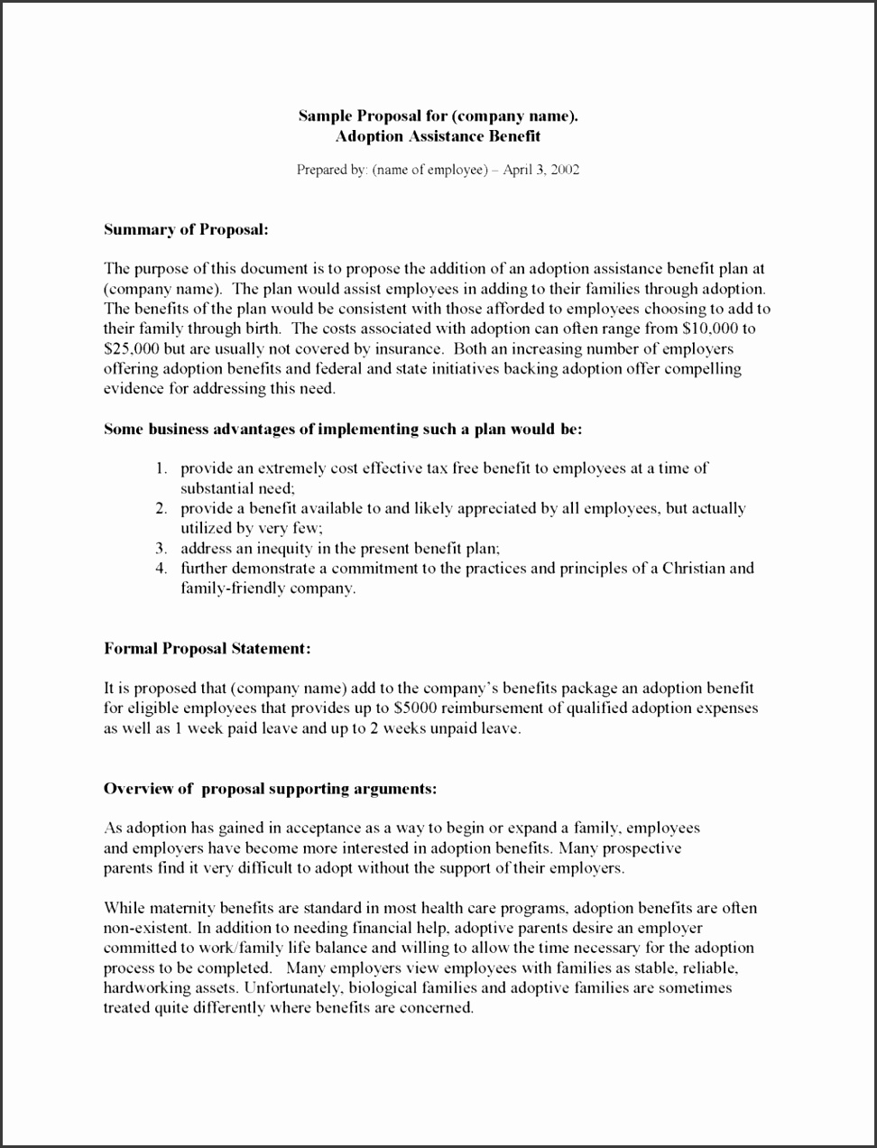 Free Business Proposal Template Templated Information Technologyan Systems pany