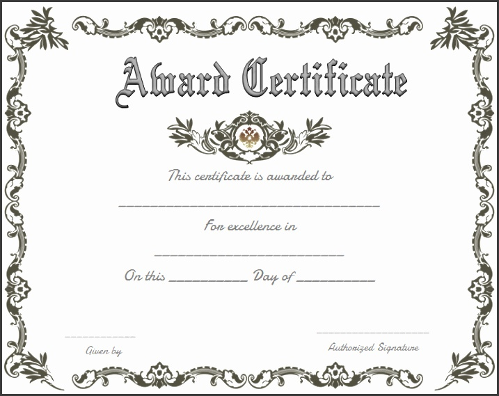Certificates Recognition Templates Free Certificate Recognition Template Customize line Sample Certificate Recognition Template 21 Documents In