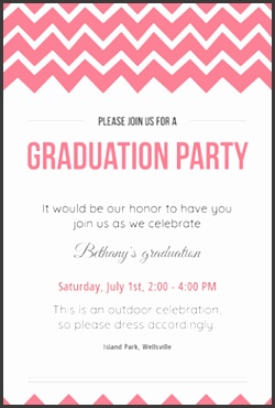 Graduation Party Graduation Party Invitation Template