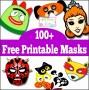 8  Free Halloween Mask Template