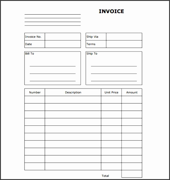 Free Invoice Templates Word  Sampletemplatess  Sampletemplatess