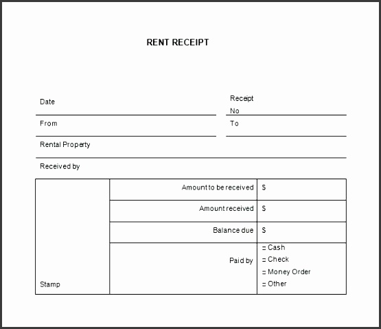 receipt templates for word rental receipt template free word excel documents rent receipt template free invoice