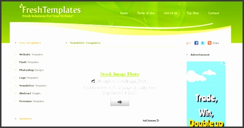 free template s 100 free responsive e mail e newsletter templates egrappler