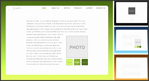 Free Flash Website Template