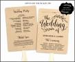 6  Free Wedding Program Templates