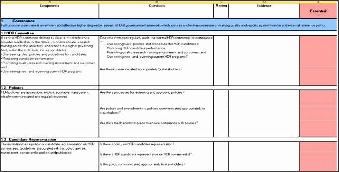 6 gap analysis template excel free