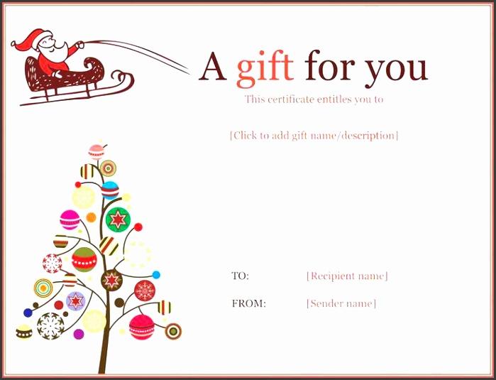 7 Gift Certificate Template Word Free - SampleTemplatess ...